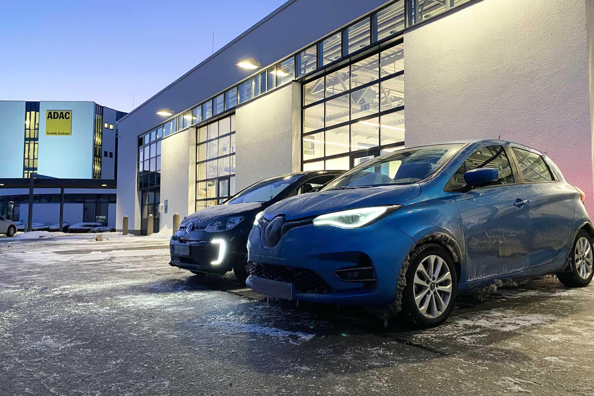 Elektroauto Winter Stau Batterie Test