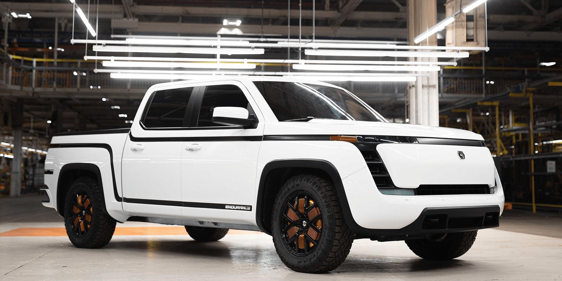 E-Pickup-Truck Lordstown Endurance noch 2021 in Serie mit LG-Akkus