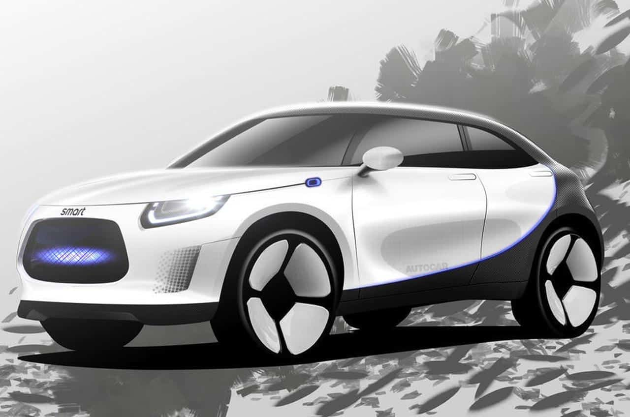 Smart soll Elektro-SUV zur IAA bringen