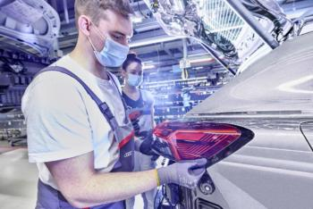 Audi startet in Zwickau mit dem Q4 e-tron