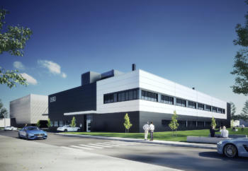 """Mercedes-AMG feiert Spatenstich für E-Prüfzentrum """"Technikum"""""""