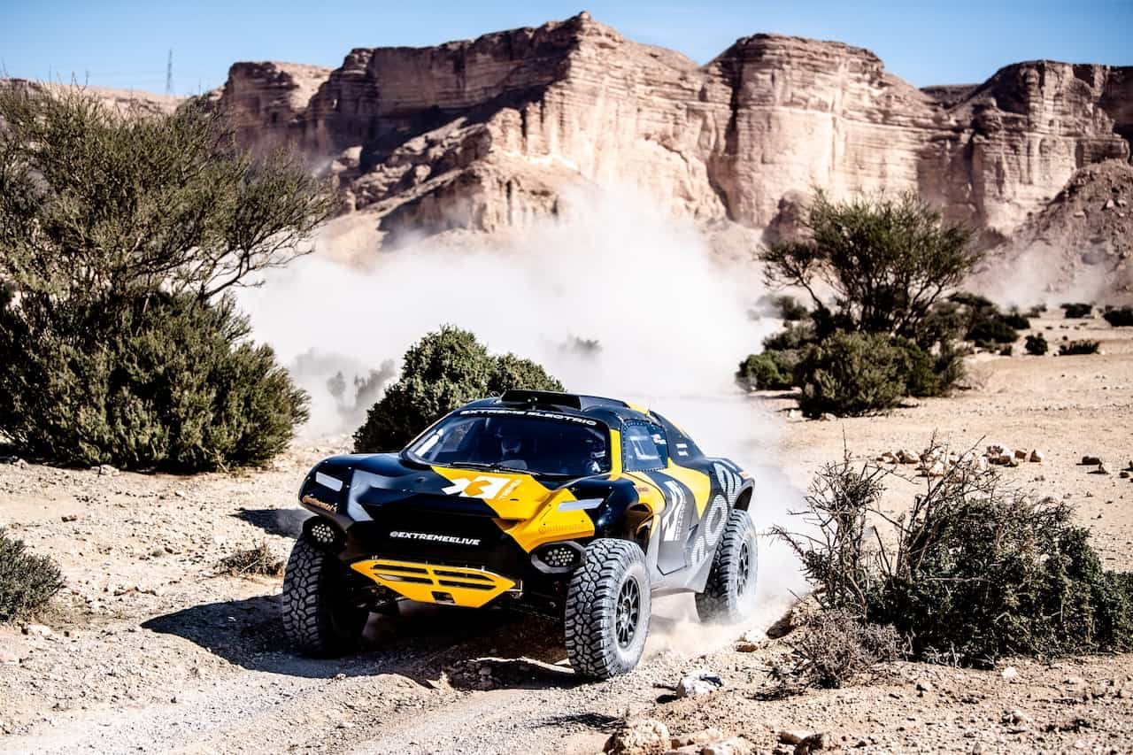 Extreme-E-Elektroauto-Rallye