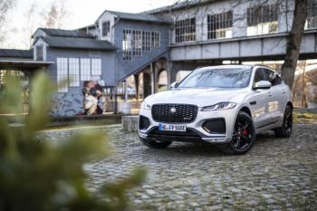 Jaguar F-Pace Plug-In-Hybrid: Für Kralle und Pfote