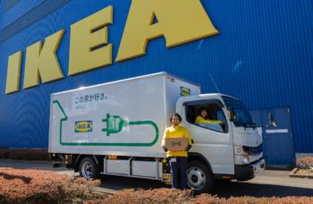 Fuso-Ikea-Elektro-Lkw-eCanter