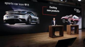 Porsche-Jahrespressekonferenz