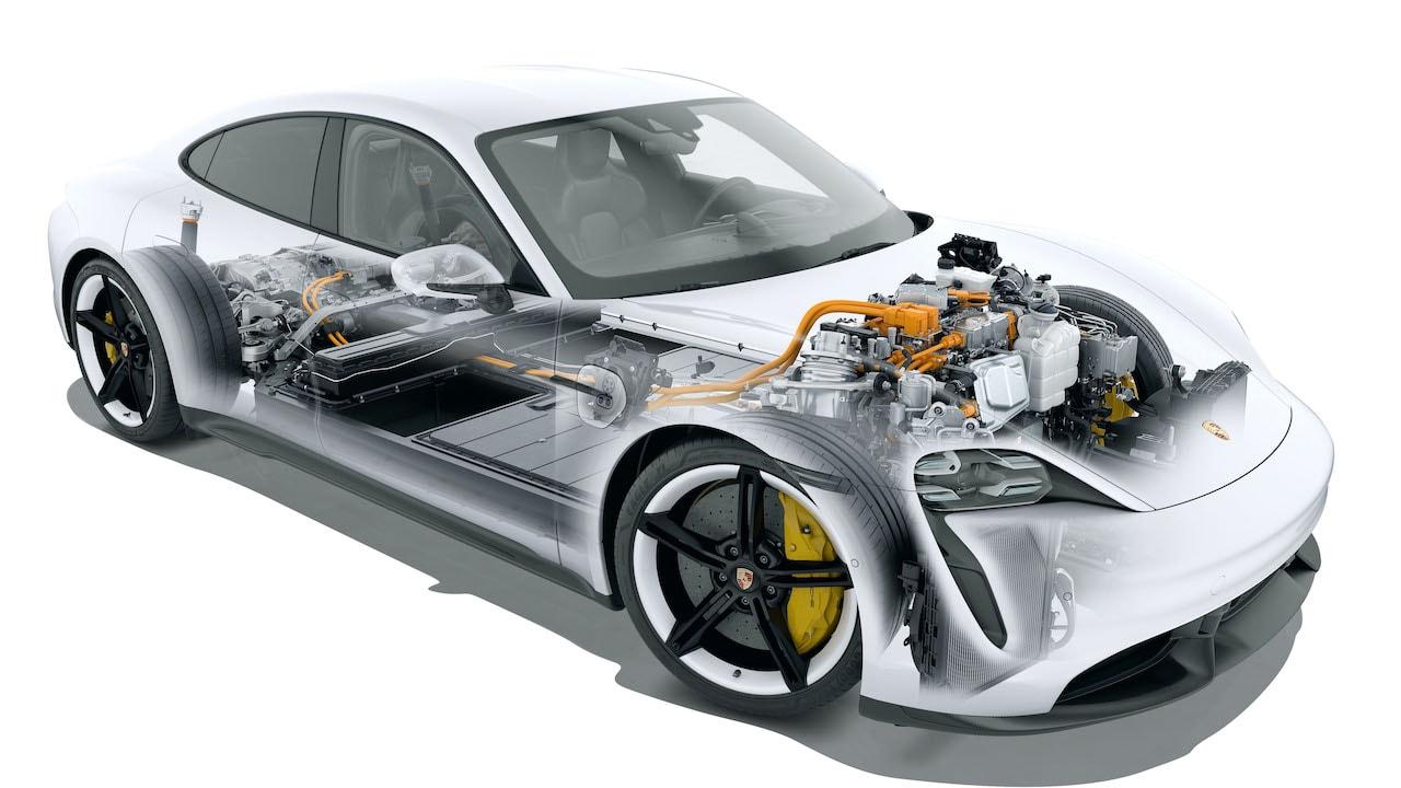 Porsche-Taycan-Antrieb-Elektromotor