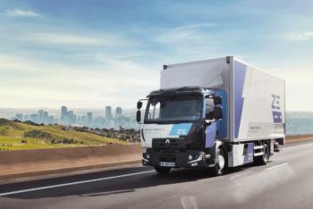 Renault-Elektro-Nutzfahrzeug-Lkw