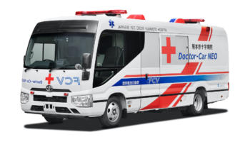 Toyota-Brennstoffzelle-Wasserstoff-Krankenwagen