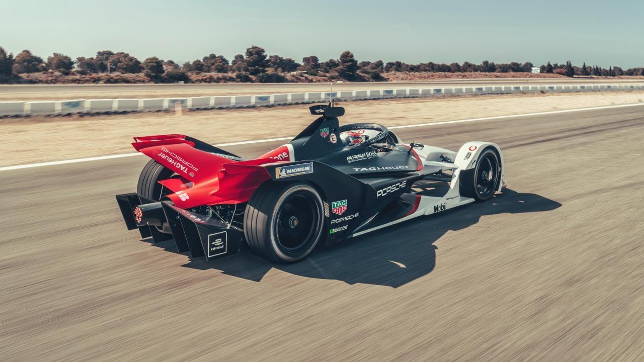 Porsche setzt auf Zukunft der Formel E