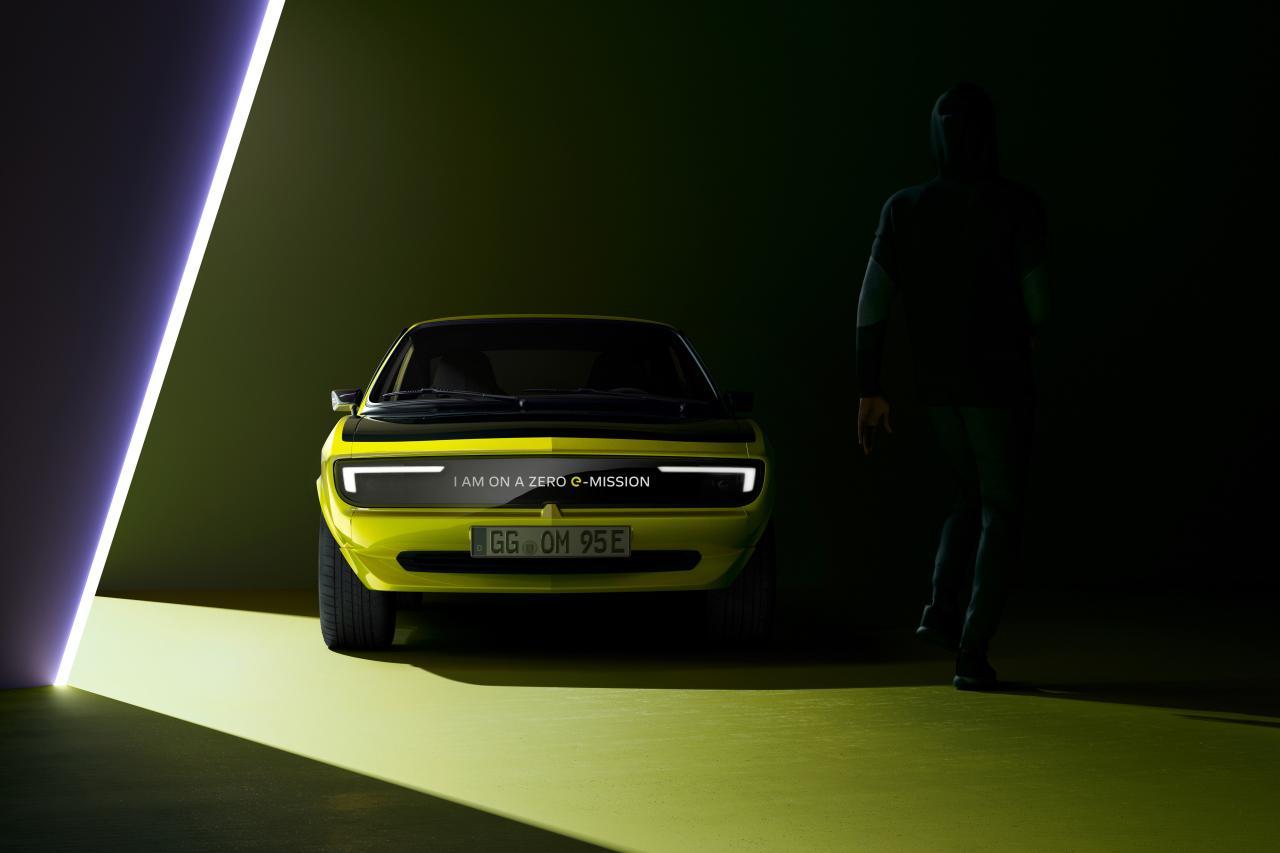 Elektrischer Opel Manta: Den Blitz im Visier