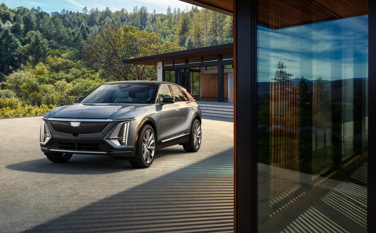 Cadillac LYRIQ als Ausblick auf rein elektrische Zukunft der Marke