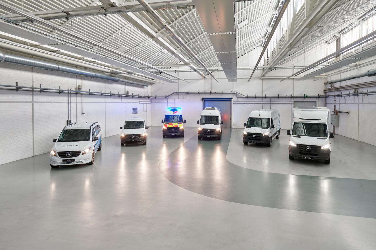 Mercedes-Benz Vans: Elektro-Basis für alle Fälle