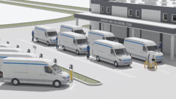 ABB-AWS-Elektrofahrzeug-Flotte-Cloud