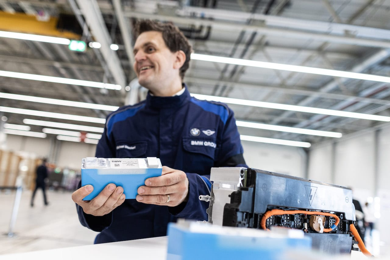 BMW-Elektroauto-Akku-Batterie-Modul-Produktion