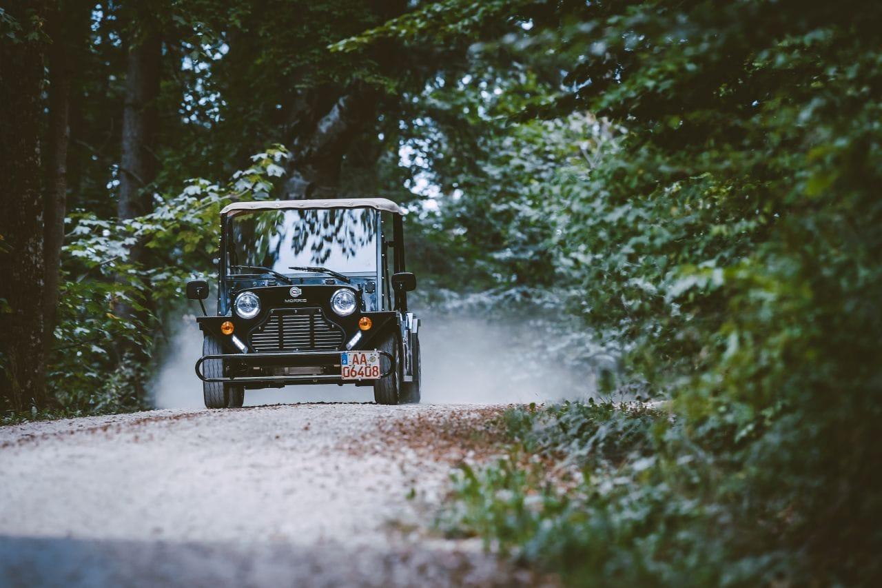 Kult-Buggy CSE Morris fährt 800 Kilometer ohne Pause - dank Brennstoffzelle