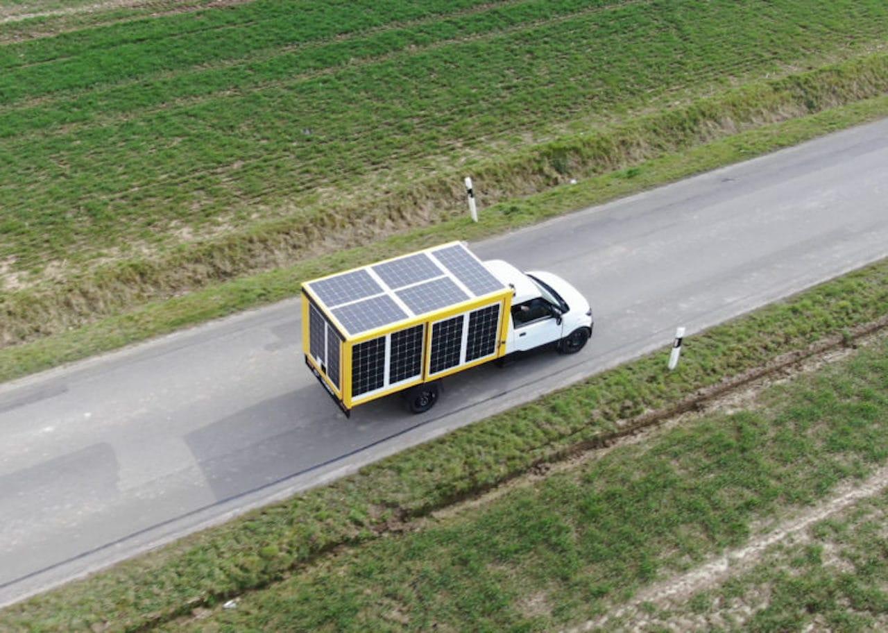 ISFH-Testfahrzeug-Solar-Elektroauto