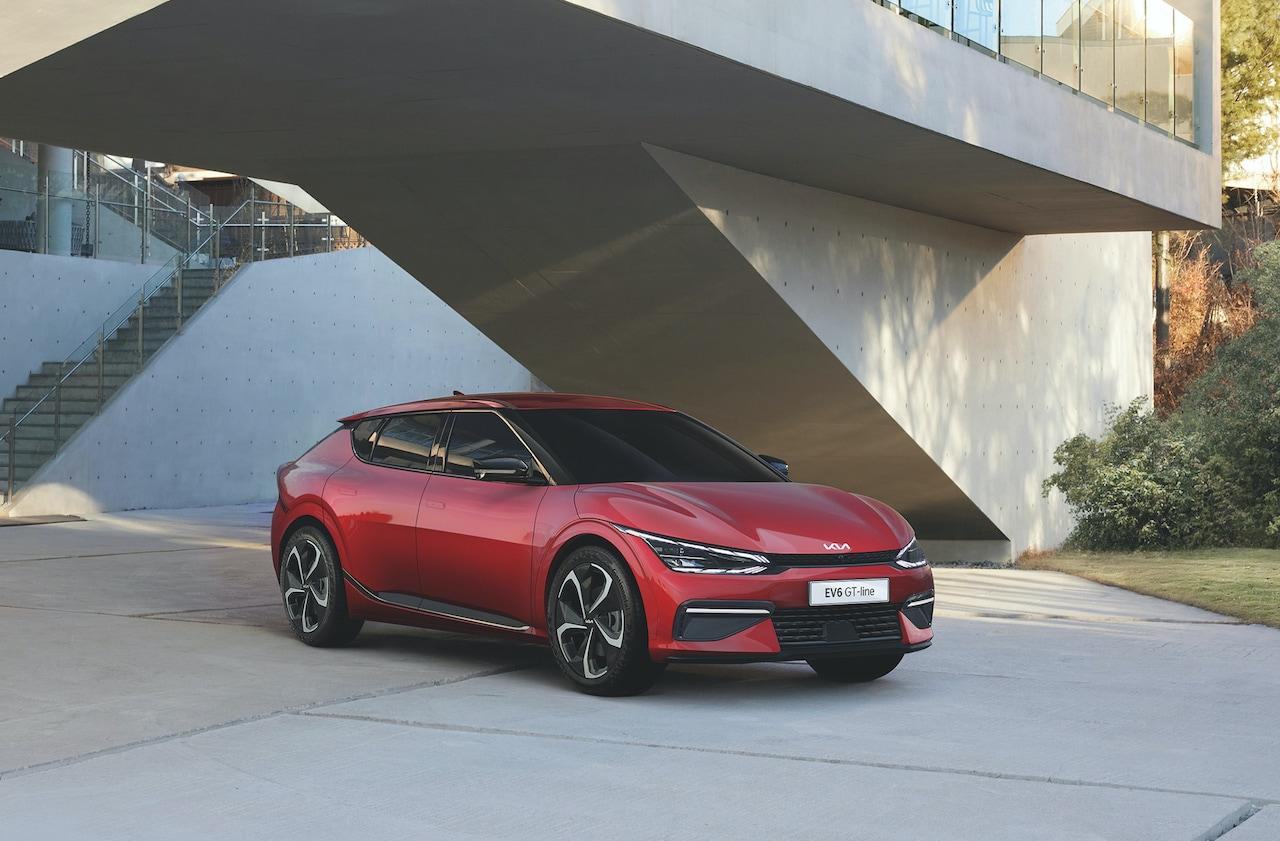 Kia-Elektroauto-EV6-GT-Vorne