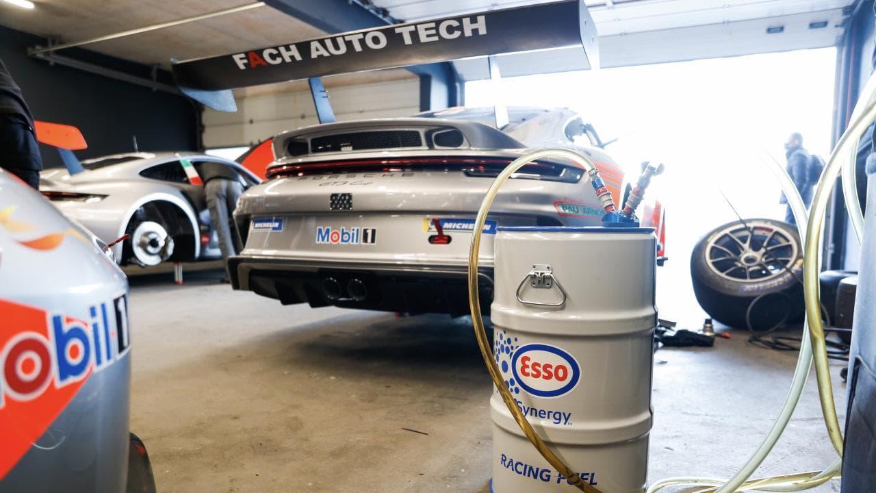 Porsche-Cup: Rennsport mit erneuerbarem Sprit