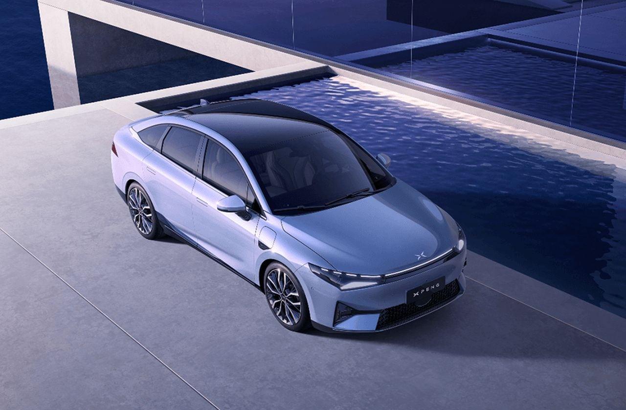 XPeng P5 - Kleine E-Limousine mit LiDAR-Technologie - über 10.000 Vorbestellungen