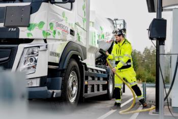 Volvo Trucks wird ab 2040 gänzlich auf fossile Kraftstoffe verzichten