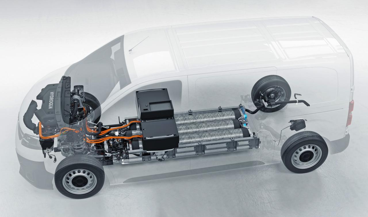 Opel: Wasserstoff-Vivaro schafft mehr als 400 Kilometer