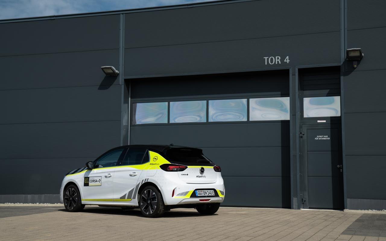 """""""eLoaded"""" sorgt für Strom im ADAC Opel e-Rally Cup"""
