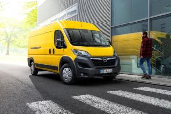 Movano-e: Opels Größter nun auch als Akku-Version