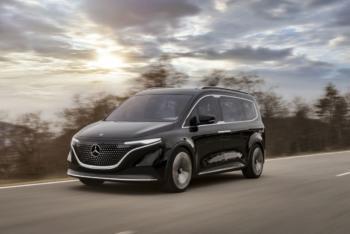 Premiere des Mercedes-EQ Concept EQT - E-Van für Familien & Freizeitaktive
