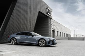 Händler-Start für Audi e-tron GT quattro
