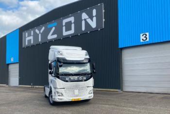 Hyzon-Wasserstoff-Lkw