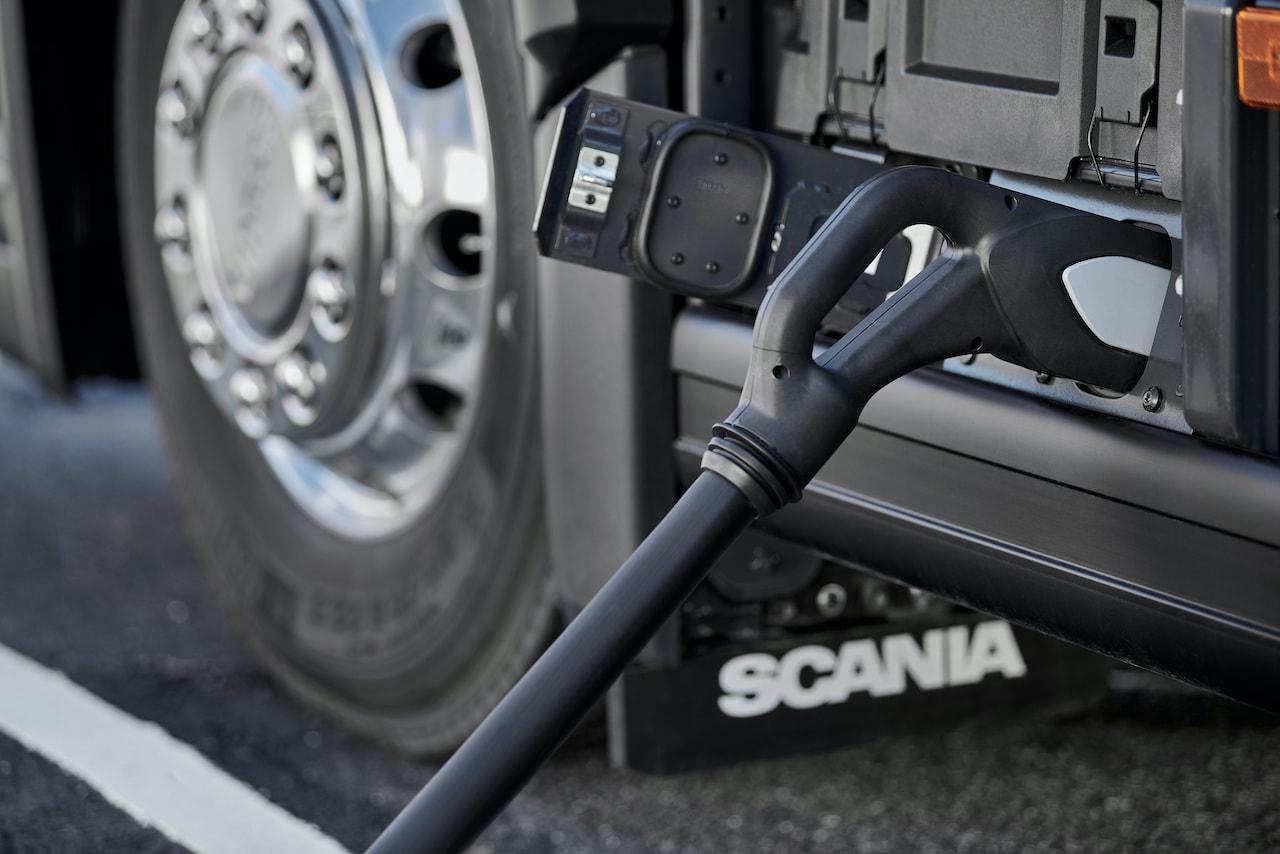 Kopenhagen-Scania-Elektro-Müllwagen