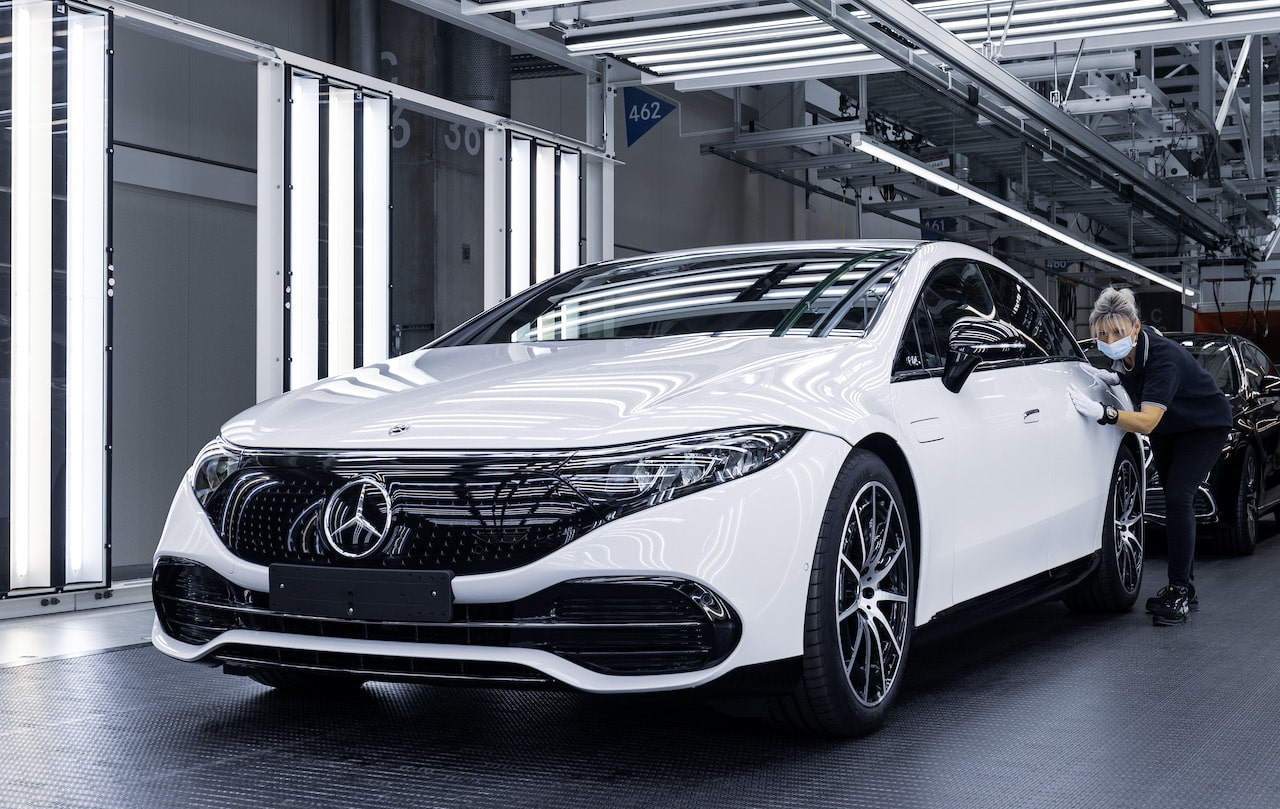 Mercedes-Benz-EQS-Produktion