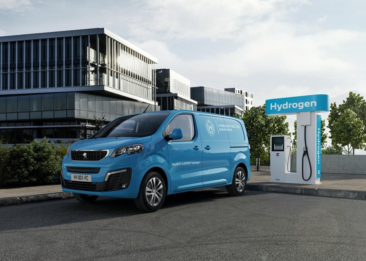 Peugeot e-Expert auch mit Brennstoffzelle
