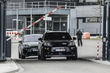 Porsche testet Prototypen des vollelektrischen Macan nun auch öffentlich