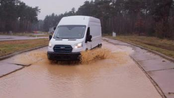 Beinharte Tests für neuen Ford E-Transit