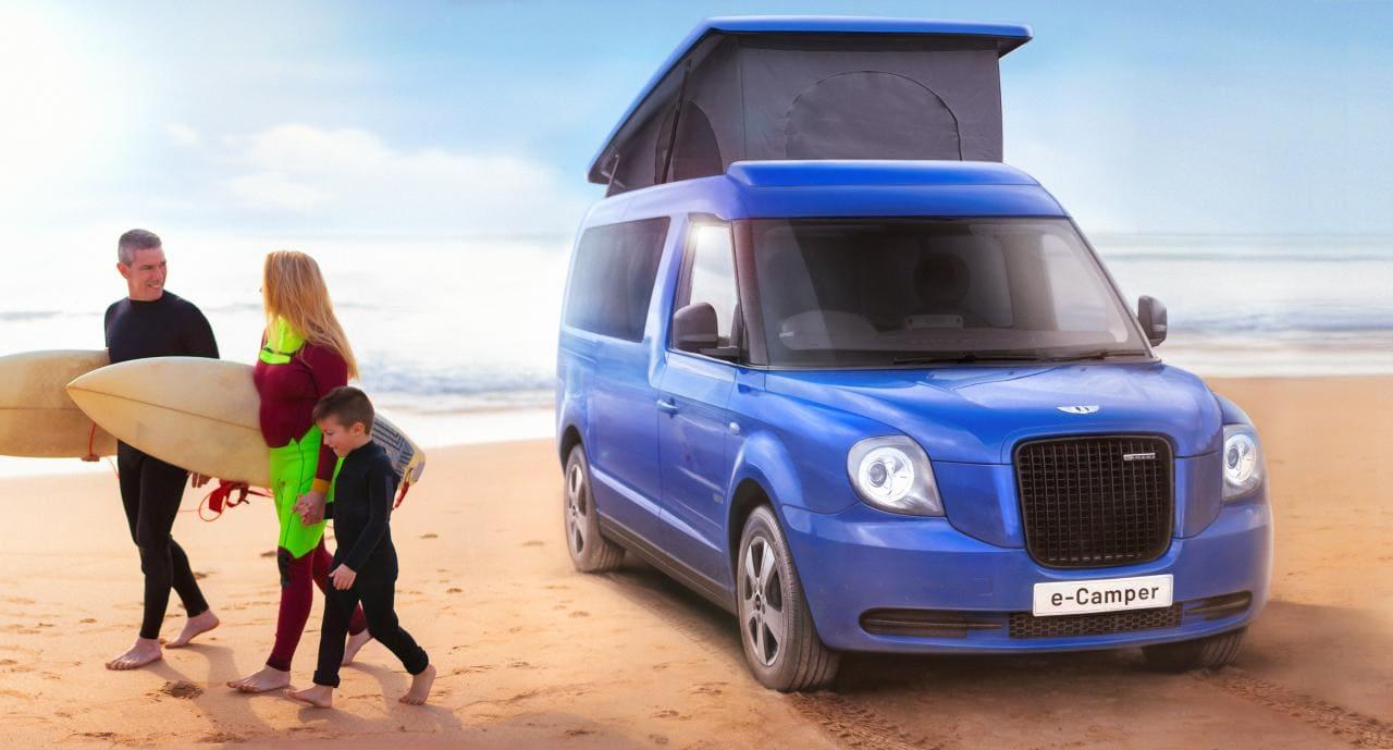 LEVC stellt e-Camper, ein elektrisches Wohnmobil mit bis zu 489 km Reichweite, vor