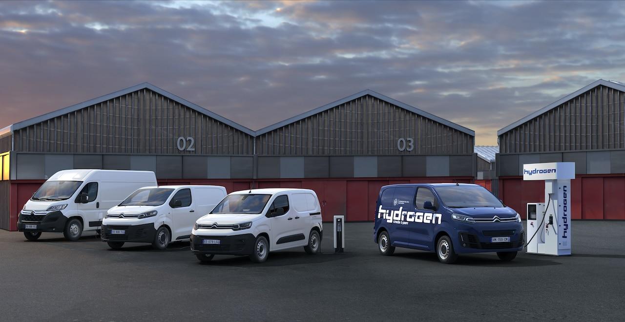 Citroën-Elektro-Nutzfahrzeuge