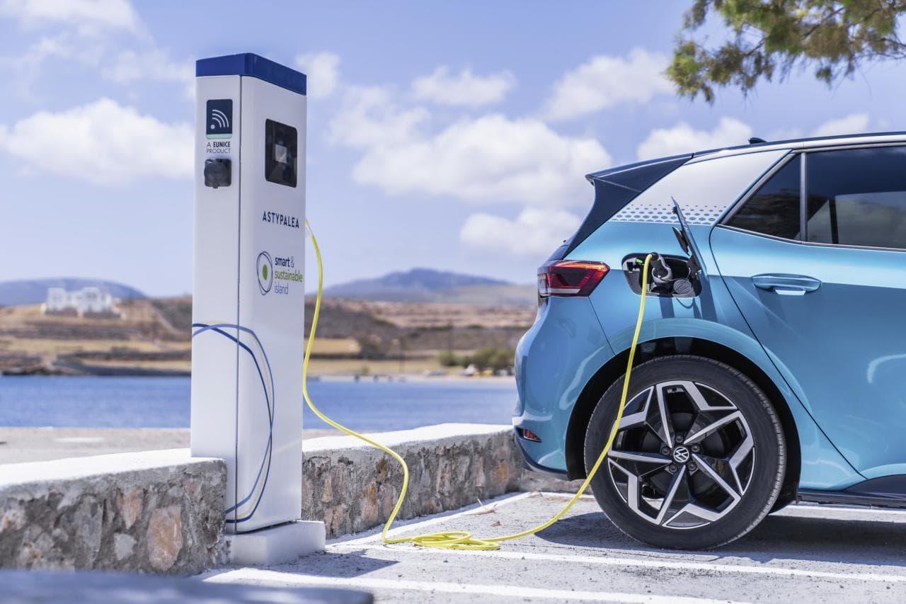 """VW und Griechenland starten Projekt """"Elektro-Insel"""""""