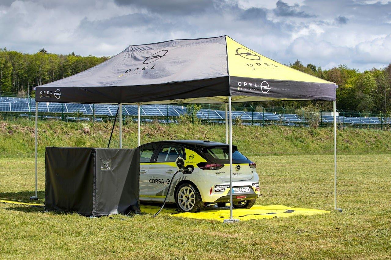Elektroauto-Ladeinfrastruktur-Opel-Corsa-e-Rally