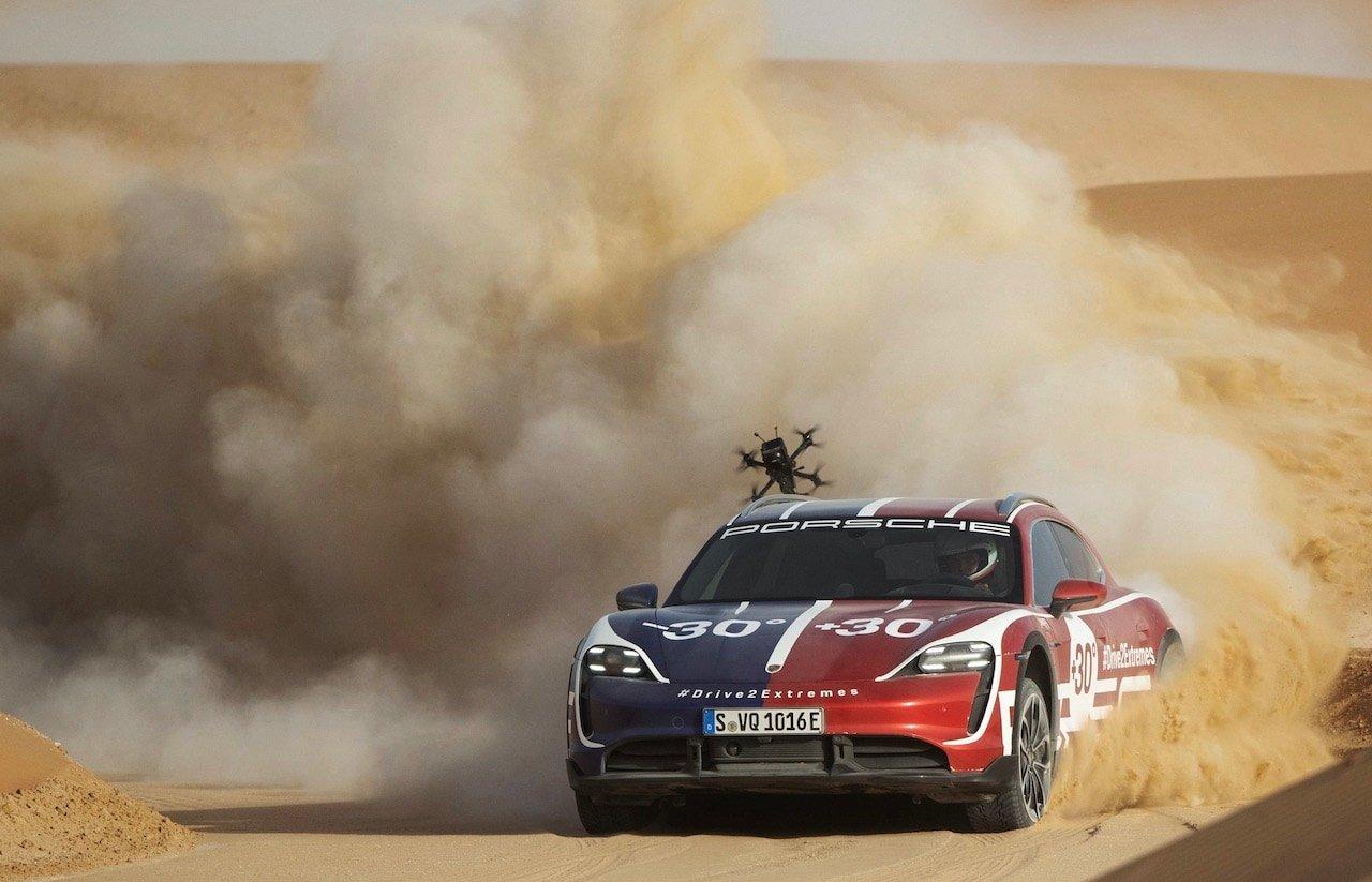 Porsche-Taycan-Cross-Turismo-Drohne-Johnny-FPV