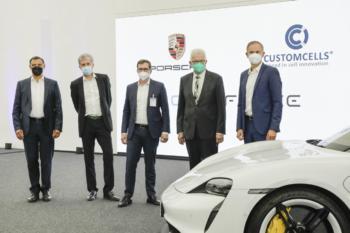 Porsche setzt voll auf Power-Akkus