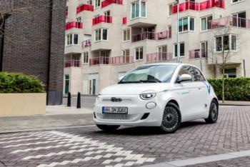 SHARE NOW Fiat 500e Hamburg Carsharing