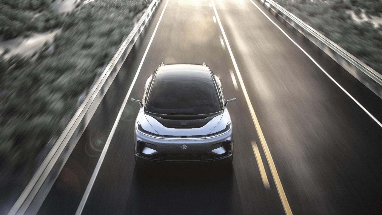 FaradayFuture will mehr als ein E-Auto auf die Straße bringen, wie der FF91 zeigt
