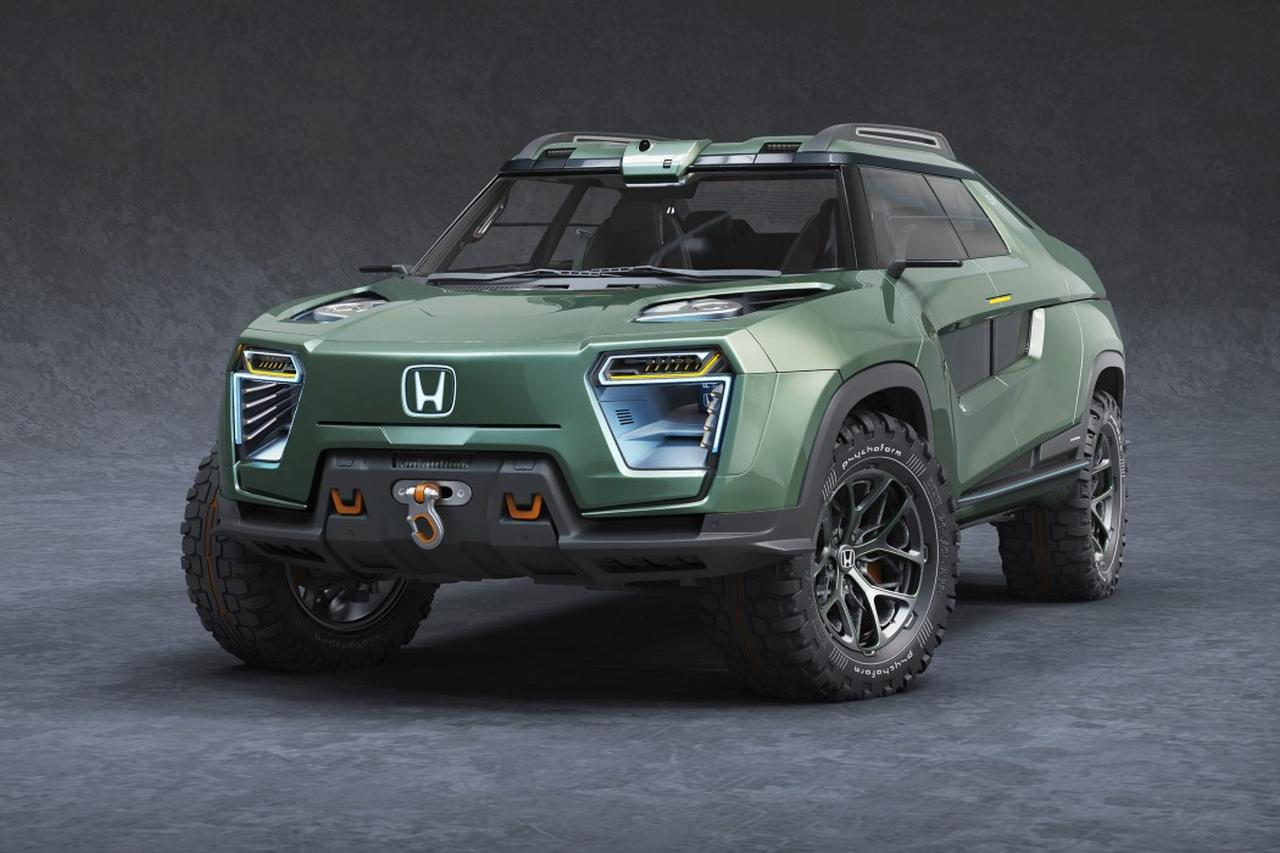 Honda Ridgeline EV Concept - Konkurrenz zum Tesla Cybertruck