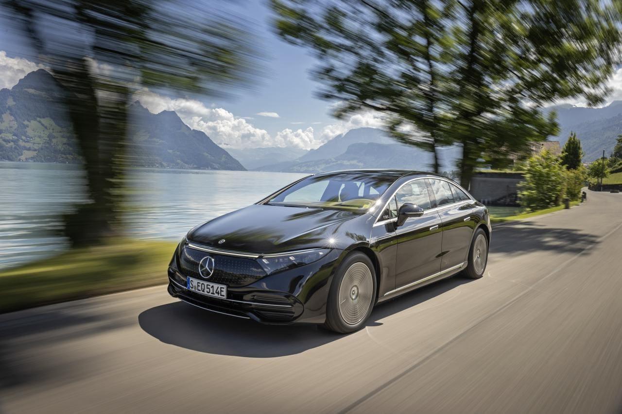 Mercedes EQS: Spannung in der Luxusklasse