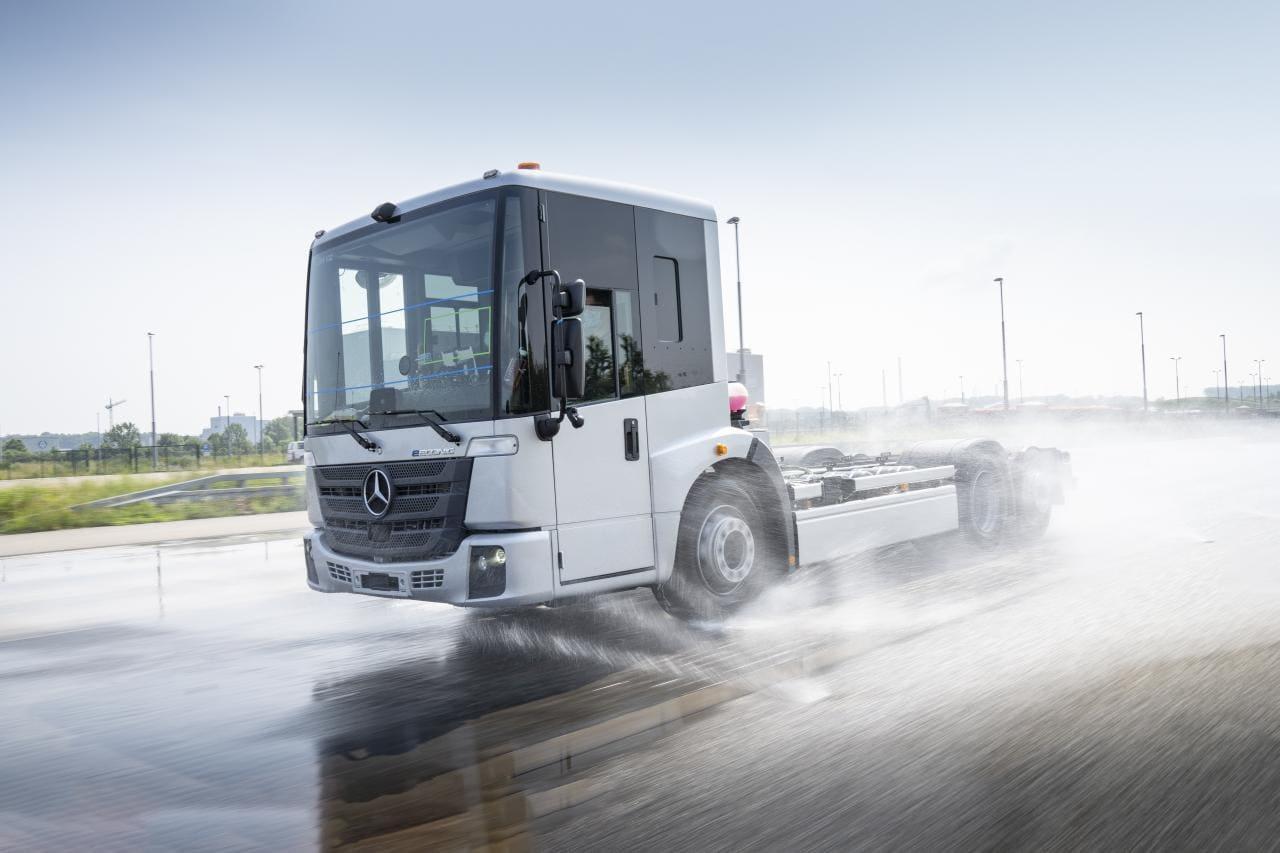 Mercedes Trucks testet eEconic für die Müllabfuhr
