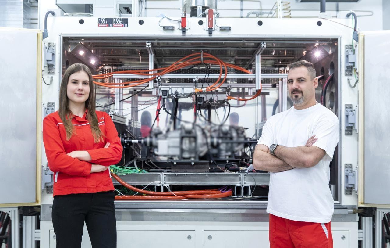 Audi rüstet Entwicklungszentrum in Ungarn auf