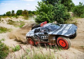 Elektro-Audi für die Dakar-Rallye: Die Wüste ruft