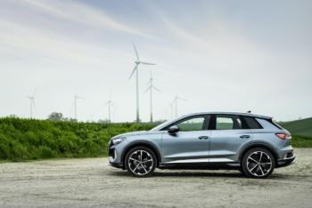 Audi Q4 e-tron nun mit mehr Reichweite sowie als weiteres Allradmodell zu haben