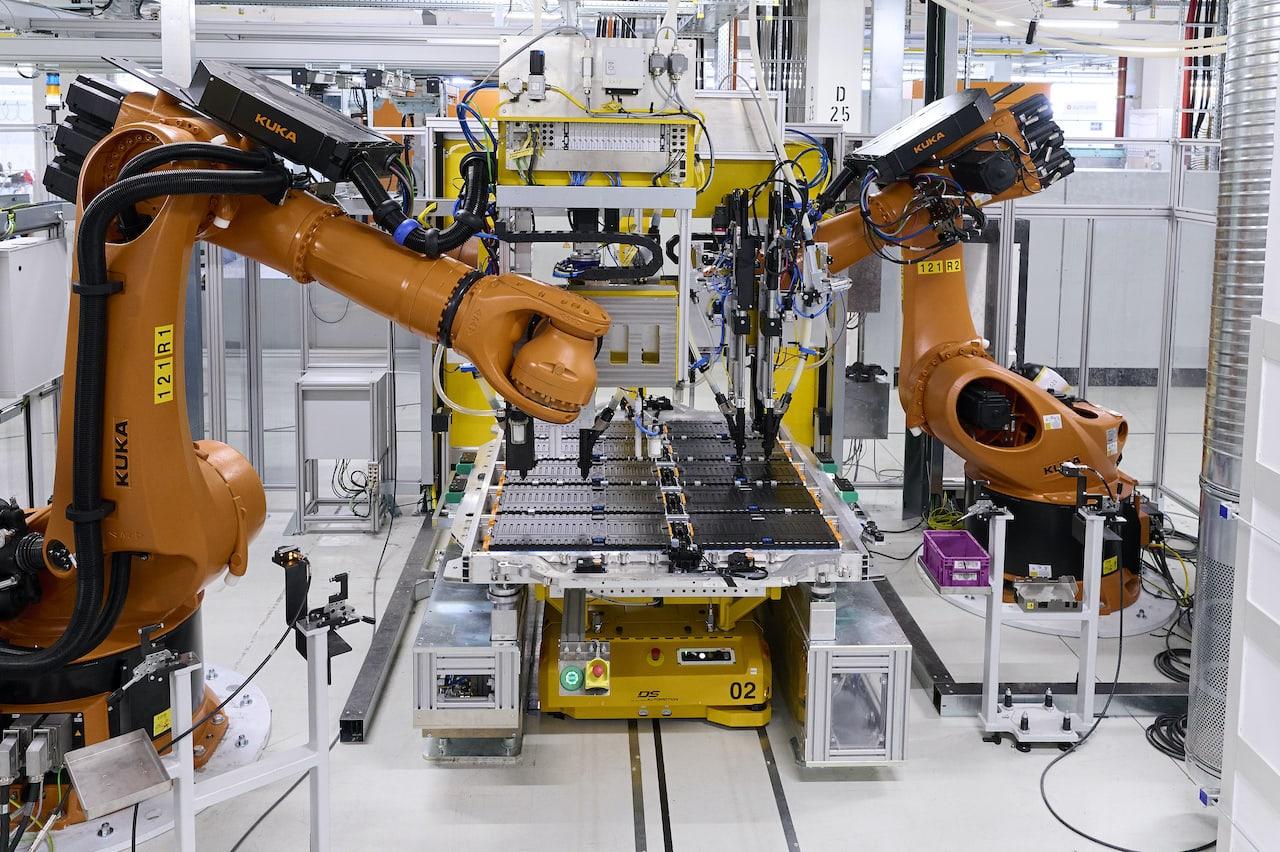 BMW-Produktion-Elektroauto-iX-Batterie